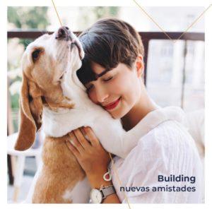 building pet emocion con perro